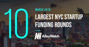 These are the 10 Largest NYC Tech Startup Funding Rounds of March 2019