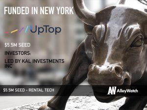 UpTop Raises $5.5M to Lead the Way in the Rise of RentalTech