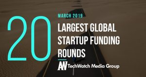 The 20 Largest Global Startup Funding Rounds of March 2019