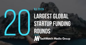 These are the 19 Largest Global Tech Startup Funding Rounds of Q1 2019