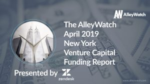 The AlleyWatch April 2019 New York Venture Capital Funding Report