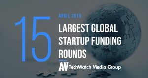 The 15 Largest Global Startup Funding Rounds of April 2019