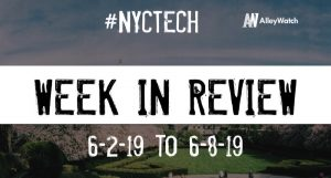 #NYCtech Week in Review: 6/2/19-6/8/19