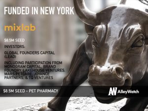 Mixlab Raises $8.5M for its Modern Pet Pharmacy