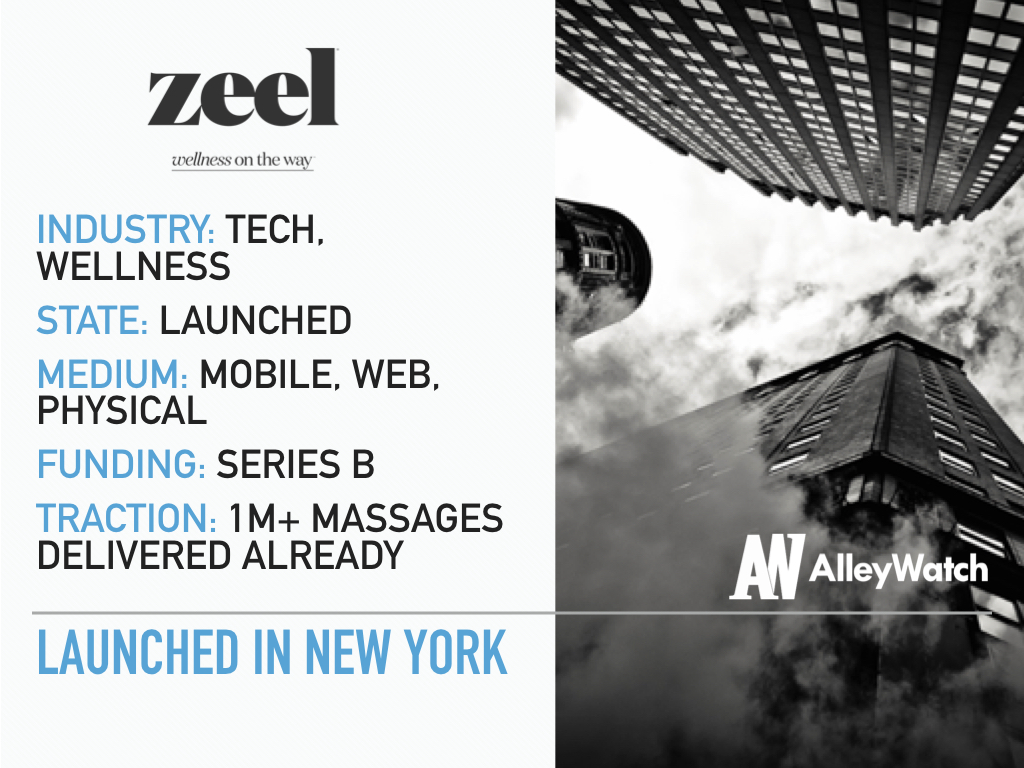 Zeel Brings On-Demand Massages to Your Home, Office, Hotel, or All Three