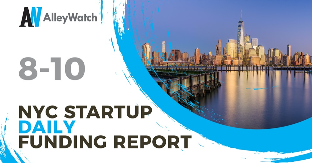 Photo of The AlleyWatch Startup Daily Funding Report: 8/10/2020 – AlleyWatch | AlleyWatch