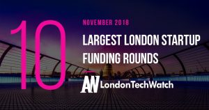 These 10 London Startups Raised the Most Capital in November 2018