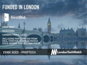 BestBid Raises £500K to Empower Home Sellers by Using Multiple Agents Seamlessly