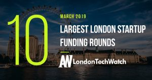These 10 London Startups Raised the Most Capital in March 2019