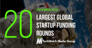 The 20 Largest Global Startup Funding Rounds of September 2018
