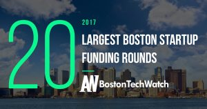 These Boston Startups Raised the 20 Largest Funding Rounds in 2017