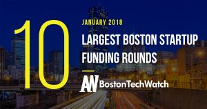 The 10 Largest Boston Startup Funding Rounds of January 2018
