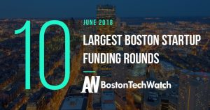 These are the 10 Largest Boston Startups Funding Rounds from June 2018