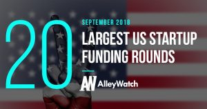 These are the 20 Largest US Startup Funding Rounds of September 2018